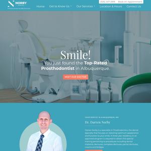 ABQ Dentures website