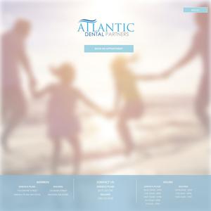 Atlantic Dental Partners website