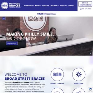 Broad Street Braces website