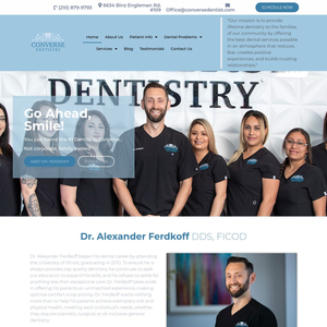Converse Dentistry website