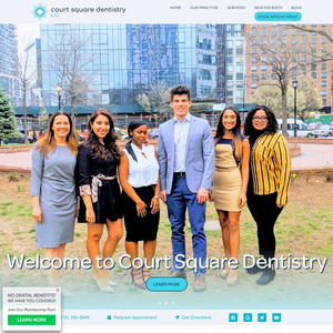 Court Square Dentistry website