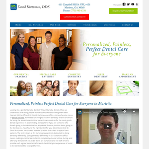 David Kurtzman, DDS website