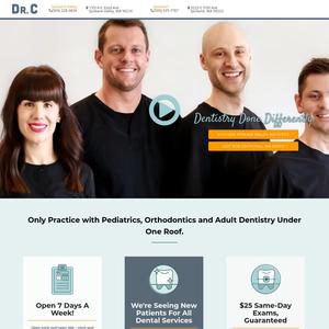 Dr. C Family Dentistry website