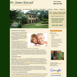 Dr. James Kincaid website