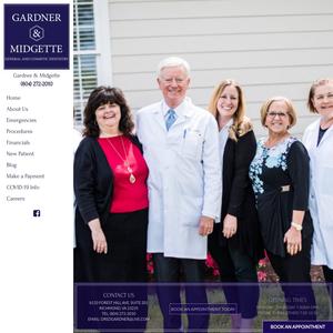 Gardner & Swanner website