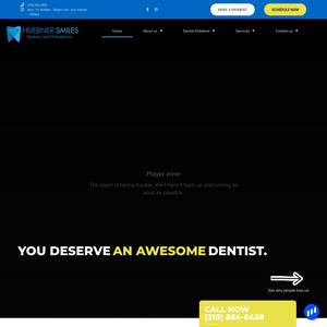 Huebner Smiles Dentistry website