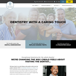 Marbella Dentistry website