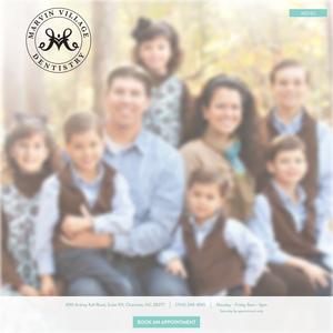 Marvin Village Dentistry website