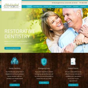 Mockingbird Dental Associates website