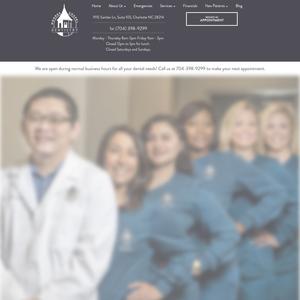 Moores Chapel Dentistry website