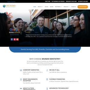 Mundo Dentistry website