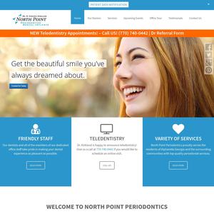 North Point Periodontics website
