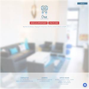 Ora Dentistry website