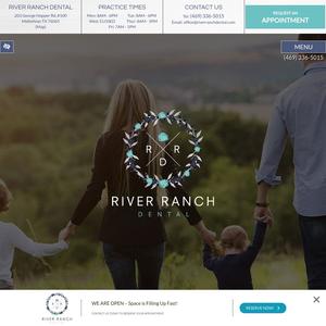 River Ranch Dental website