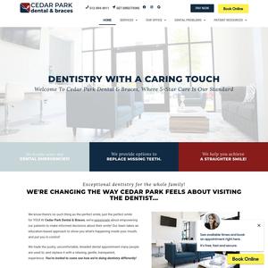 Rock Point Family Dentistry website