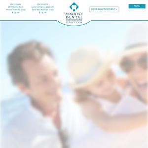 Seacrest Dental website
