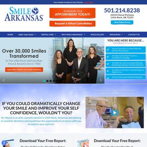 Smile Arkansas website