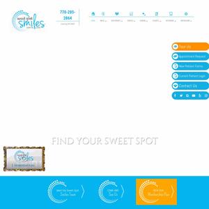 Sweet Spot Smiles website