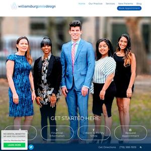 Williamsburg Smile Design website